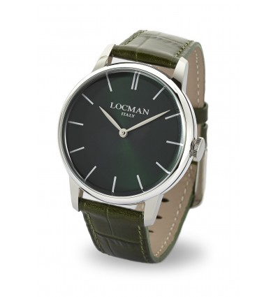 LOCMAN 1960 GREEN BLACK QUARTZ