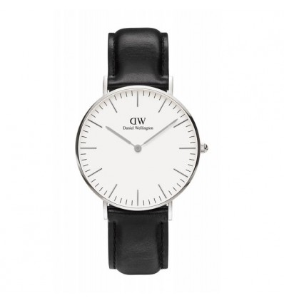 Daniel Wellington Sheffield 36 mm Silver | Ferro Gioielli