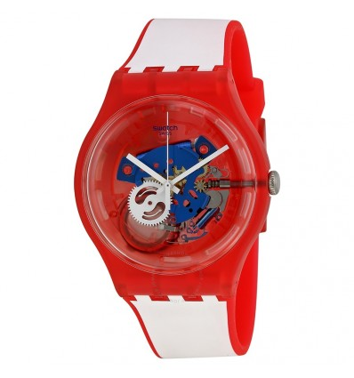 Swatch New Gent Clownfish Red | Ferro Gioielli