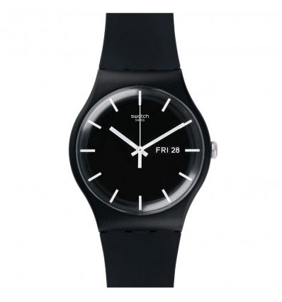 Swatch New Gent Mono Black | Ferro Gioielli