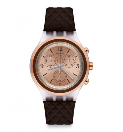 Swatch Irony Diaphane Elebrown | Ferro Gioielli