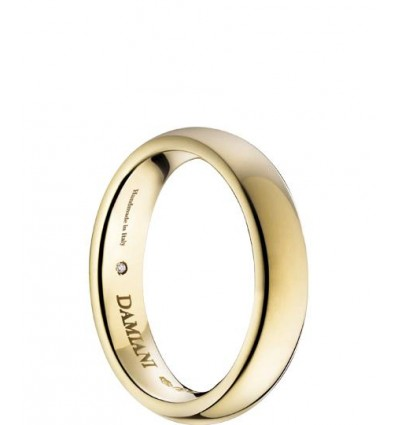 Yellow Gold Wedding Ring 2.7 mm Noi2 Damiani | Ferro Gioielli