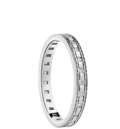 White Gold with Diamonds Ring Belle Epoque Damiani | Ferro Gioielli