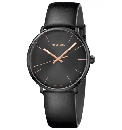 Calvin Klein High Noon PVD nero 40 mm Quarzo K8M214CB