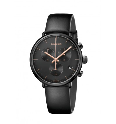Calvin Klein High Noon Cronografo PVD nero 40 mm Quarzo K8M214CB