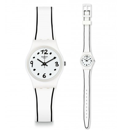 Swatch Lady Black Border | Ferro Gioielli