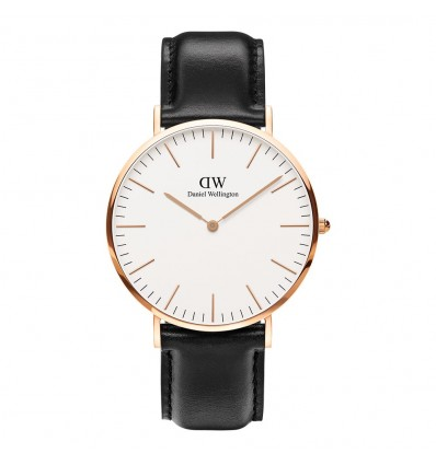 Daniel Wellington Classic Sheffield 40 mm PVD | Ferro Gioielli