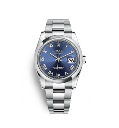 Rolex Datejust 36 mm blu 116200