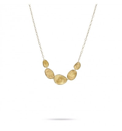 Yellow Gold Graduated Necklace Lunaria Marco Bicego CB1779 Y | Ferro Gioielli