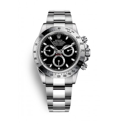 Rolex Daytona Black Index 116520 | Ferro Gioielli