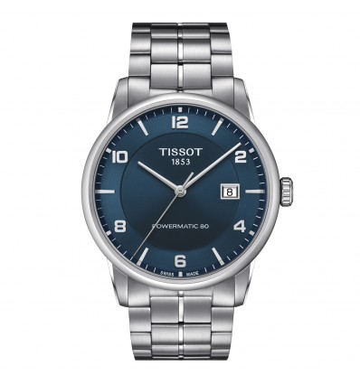 Tissot Luxury Powermatic 80 Blu T0864071104700 | Ferro Gioielli