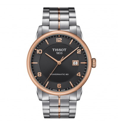 Tissot Luxury Powermatic 80 Antracite T0864072206700 | Ferro Gioielli