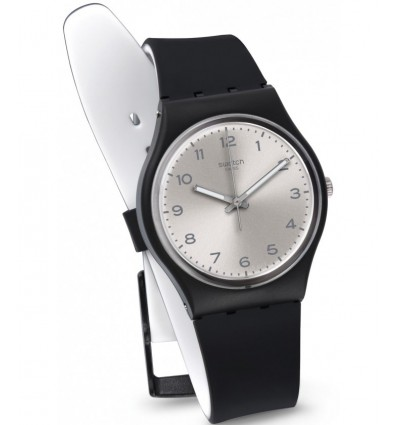 Swatch Gent Silver Friend Too