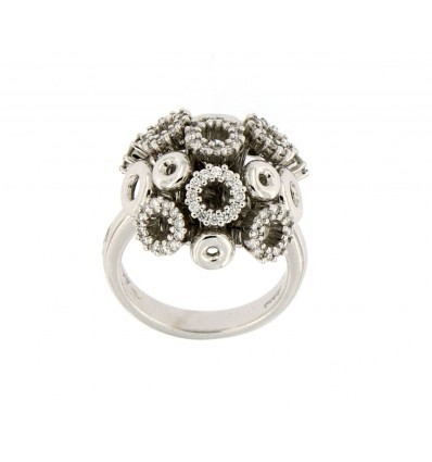 SALVINI BOUQUET BRIL RING 0,65 ct | Ferro Gioielli