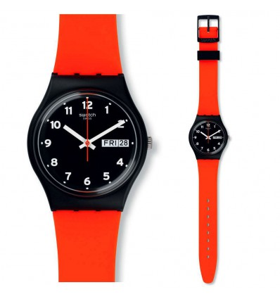 Swatch Gent Red Grin | Ferro Gioielli