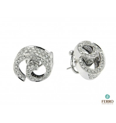 SALVINI RICCIOLO EARRINGS ct 1,90 | Ferro Gioielli