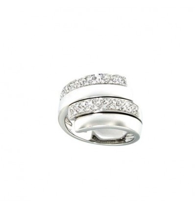 SALVINI SPIRALBRILL RING 0,28 ct | Ferro Gioielli