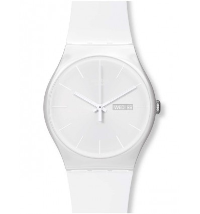 Swatch New Gent White Rebel