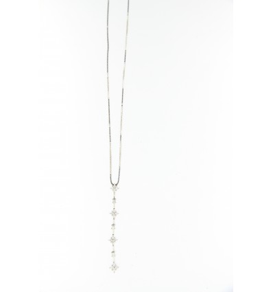 SALVINI BRILLINE NECKLACE ct 0,39