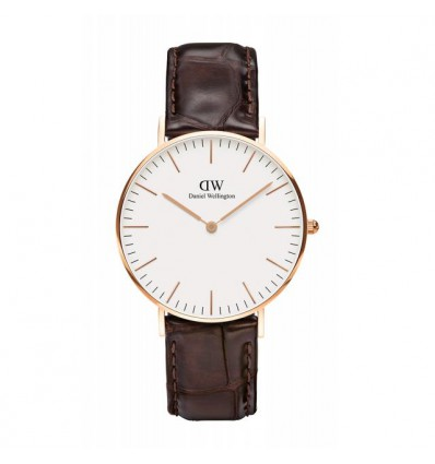 DANIEL WELLINGTON YORK PVD WHITE 36 mm | Ferro Gioielli