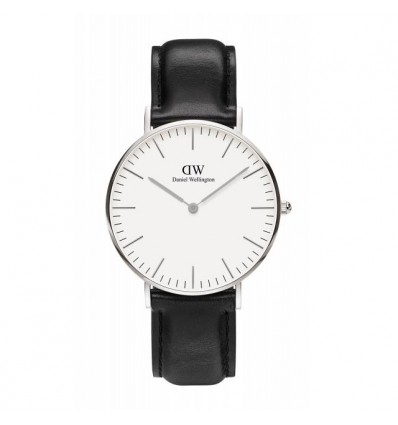 DANIEL WELLINGTON SHEFFIELD 40 MM SILVER | Ferro Gioielli