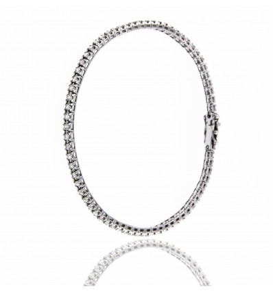 Ferro Design bracciale Tennis diamanti ct 1,02